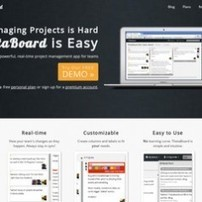 Thetaboard. Du collaboratif dans la gestion de projets. | La Geek Team | Scoop.it