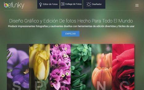 BeFunky: probablemente el mejor editor de imágenes online | Tecnologias en la Educación | Scoop.it