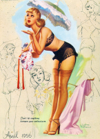The Vintage Pin Ups of Ted Withers Gallery 1 | Rockabilly | Scoop.it
