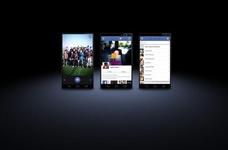 As novidades do aplicativo do Facebook para Android   + Tech - VEJA.com   TecnoCompInfo   Scoop.it