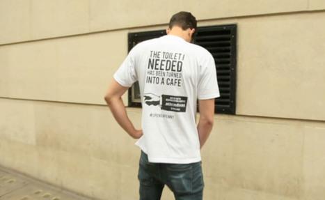 Merci de pisser dans la rue, une étonnante campagne marketing ... | STR33T Marketing | Scoop.it