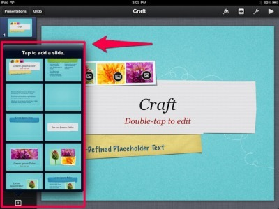 How to Create Your Own Free iPad Templates for Keynote | #edpad | Scoop.it