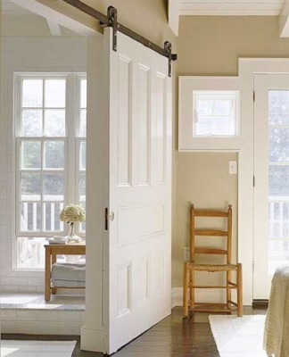 Interior Doors for Your Home: Ideas to Consider « Alan And Heather ... | Barn Doors for Inside the Home | Scoop.it