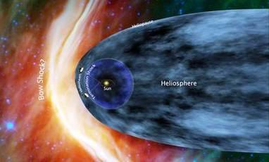 Actualité > Lancée il y a 35 ans, Voyager 1 est proche de l'espace interstellaire | Astro | Scoop.it