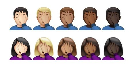 See the Face Palm and 'Harambe' emojis on iOS for the first time | Buzz IT | Scoop.it