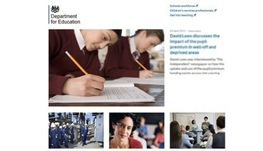 Home - The Department for Education | Uni Files | Scoop.it