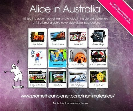 Alice in Australia - Inanimate Alice - Resources - Inanimate Alice - PrometheanPlanet | The World of Inanimate Alice | Scoop.it