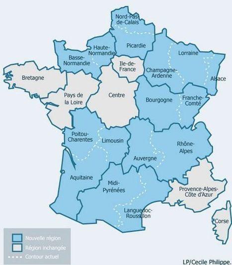 Réforme territoriale : l'Assemblée vote la carte des treize régions pour 2016 | Clusters & structuration touristique, The topic | Scoop.it
