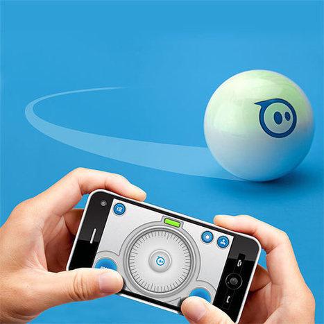 Orbotix Sphero Robotic Ball - HUD Display - Augmented Reality | HUD Display and Augmented Reality | Scoop.it