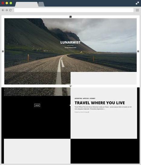 LunarMist: A Responsive Theme for Photography & Personal Blogger Template | Designrazzi | Blogger themes | Scoop.it