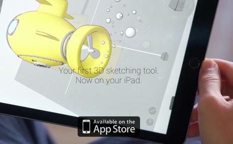 GravitySketch - Sketching in 3D is easy | Creative Innovation | Scoop.it