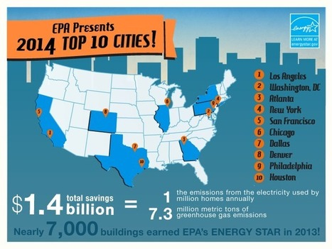 2014 rankings: Top cities with the most ENERGY STAR certified buildings | ENERGY STAR Buildings & Plants | Sustainability Science | Scoop.it
