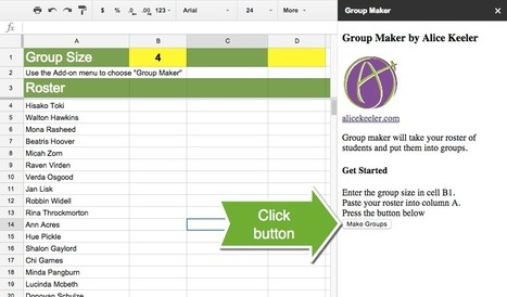 Group Maker: Automatically Make Groups with Google Sheets | BHS Ed Tech | Scoop.it