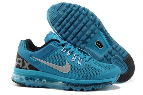 Cheap Sale Nike Air Max 2014 Mens DodgerBlue Black Shoes|YesBuyAirMax90.com | Cheap Air Max 2014 | Scoop.it