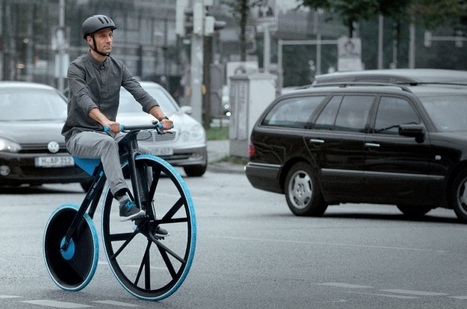 BASF reinvents the original bicycle for the modern age | Design trends | Scoop.it