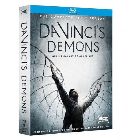 Da Vinci's Demons: DVD & Blu-ray cover art and trailer | Tom Riley | Tom Riley | Scoop.it