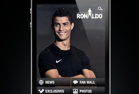 Cristiano Ronaldo App Takes Soccer and Social Media Superstar Mobile | social media and soccer | Scoop.it