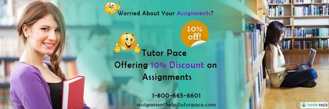 Access 24x7 Assignment Help Experts For Your Learning Concerns | Tutorpace | Scoop.it
