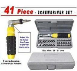 Buy 41 PCs Tool Kit Screw Driver Set at Shopper52 | Cheap Online Shopping | Scoop.it