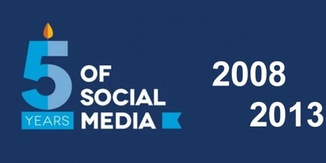 L'évolution du Social Media : 2008 – 2013 [infographie] - Siècle Digital | e-reputation and more | Scoop.it