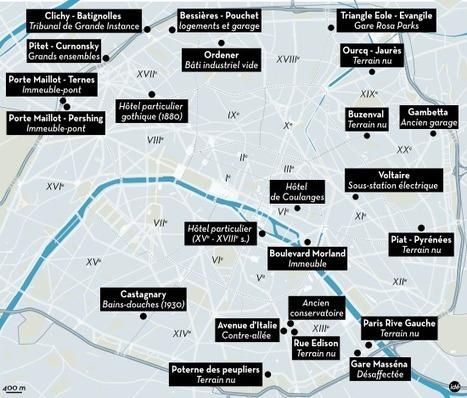Urbanisme: Hidalgo donne les clés de 23chantiers parisiens | Appels à projets et autres concours - France Europe | Scoop.it
