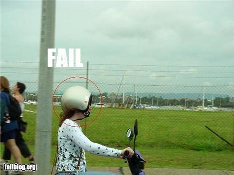 CLASSIC: Helmet FAIL | Fail | Scoop.it