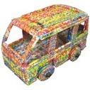 Recycled Plastic Truck, | RECYCLED ART, PRODUCTS AND THINGS | Scoop.it