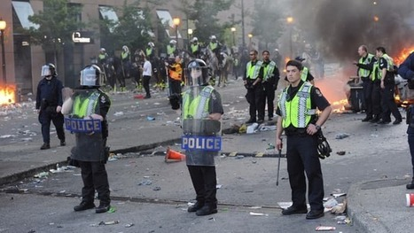 One-way shields give riot police the edge | Jeff Morris | Scoop.it