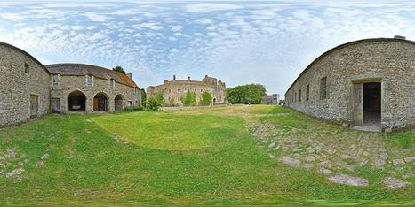 Les dépendances du château de Pirou - France par Pascal Moulin Photographe - Panorama 360 x 180° | moulin360panoramic | Scoop.it