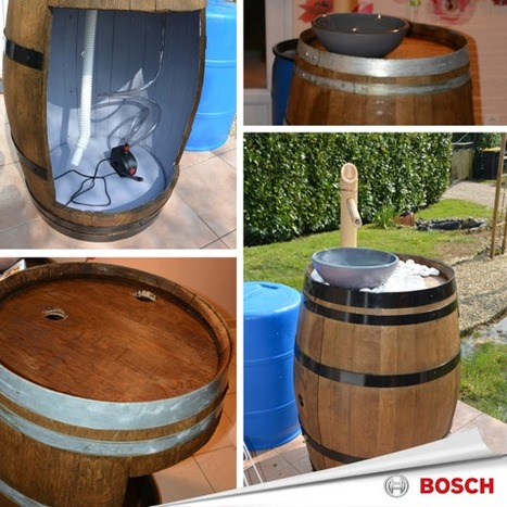 [Coup de ♥] Fontaine à boisson par Francy22 sur le #CDB | Best of coin des bricoleurs | Scoop.it
