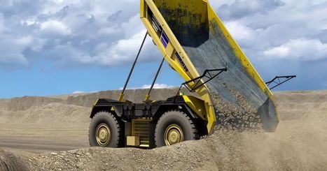 Komatsu's Self-Driving Dump Truck doesn't even have a Cab | Technology in Business Today | Scoop.it