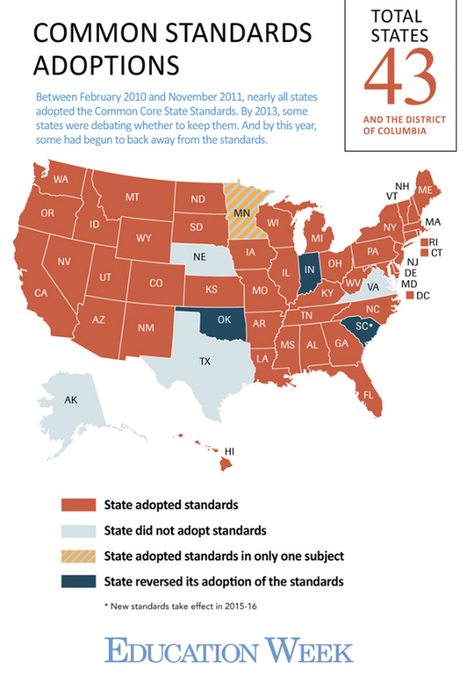 Days Apart, Two States Opt to Replace Common Core | Common Core State Standards in Education | Scoop.it