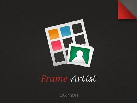 Frame Artist With Templates Pro Updated With More Patterns Plus Photo Import Via Web Search -- AppAdvice | Edtech PK-12 | Scoop.it