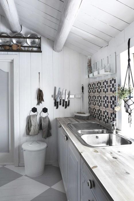Une cuisine rustique chic à la scandinave | Décoration | Scoop.it