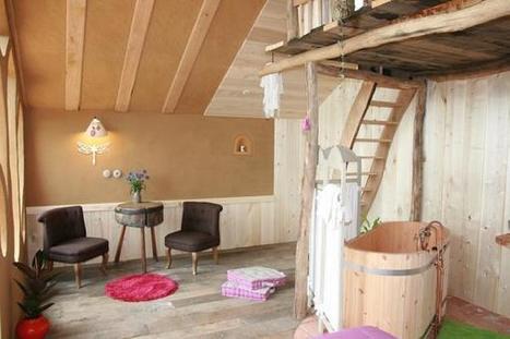 Un brin de romantisme à l'Ecolodge La Belle Verte | Facebook | Ecolodge La Belle Verte, gîte et chambres d'hôtes en Bretagne | Scoop.it