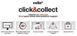 Celio lance un service de « click and collect » ultra rapide | Omni Channel retailing | Scoop.it