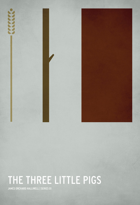 Minimalist Fairy Tale Posters | Visual & digital texts | Scoop.it