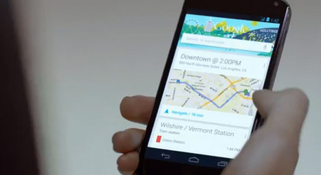Google Now : la publicité intrusive arrive | geeko | Google (For school) | Scoop.it