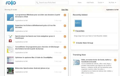 Rolio: Une alternative à google Reader | formation 2.0 | Scoop.it