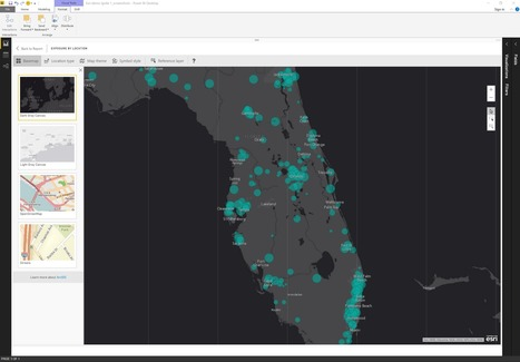 Announcing ArcGIS Maps for Power BI by Esri (Preview) | Everything is related to everything else | Scoop.it