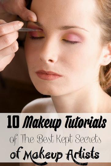 10 Makeup Tutorials of The Best Kept Secrets of #Makeup Artists | Hairstyle Tutorials | Scoop.it