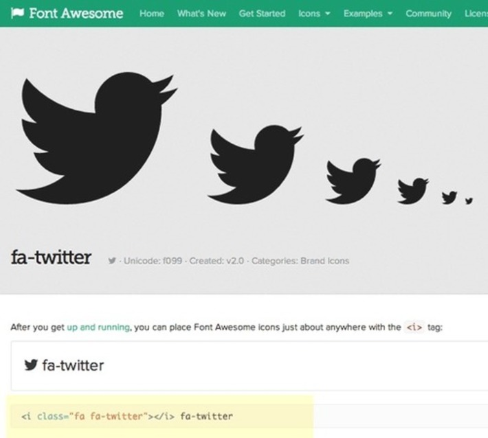 How to create a social media menu from icon fonts with FontAwesome | ❤ Social Media Art ❤ | Scoop.it