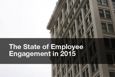The State of Employee Engagement in 2015 | Designing  service | Scoop.it