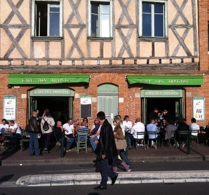 I Love Toulouse » Café des artistes | Toulouse La Ville Rose | Scoop.it