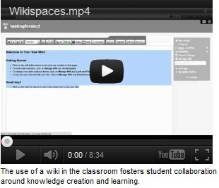 Wikis Let Students Actively Contribute to Their Learning | Education Greece | Scoop.it