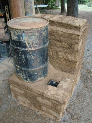 Adobe bell stove, Dragon Heater core (rocket stoves forum at permies) | stoves | Scoop.it