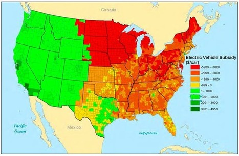 Mapping Where Electric Vehicles Actually Cause More Pollution Than Gas Cars | Sustain Our Earth | Scoop.it