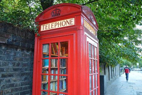 Une cabine téléphonique devenue bibliothèque citoyenne, menacée de destruction   Trucs de bibliothécaires   Scoop.it