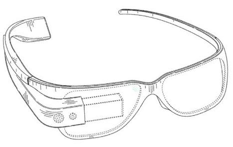 Google obtient un brevet pour ses lunettes à réalité augmentée | Curation Réalité Augmentée | Scoop.it
