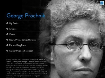 George Prochnik   Noise and Sound   Scoop.it